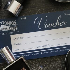 Antonio's Barbershop Services Gift Voucher