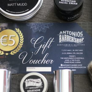 Antonio's Barber €5 Gift Voucher
